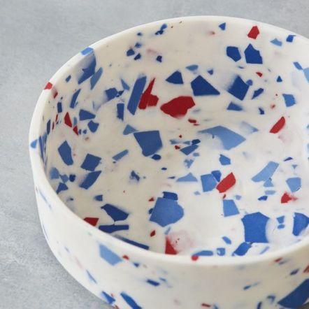 Sevak Zargarian - Small Bowl [blue/red] [detail]Photographer: Yeshen Venema